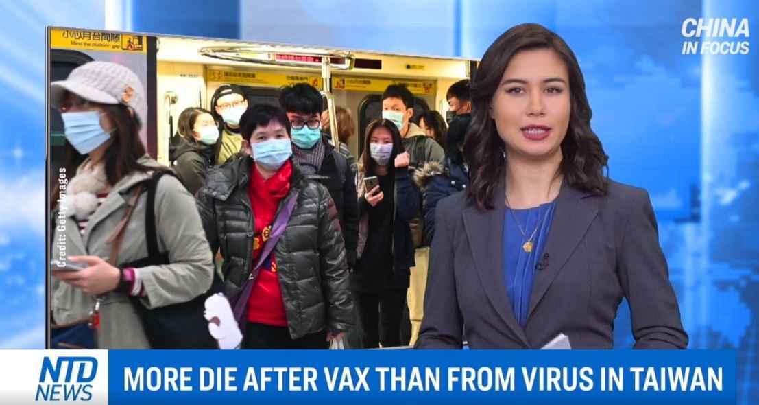 Taiwan rapporteert meer sterfgevallen door vaccinatie dan door Covid-19