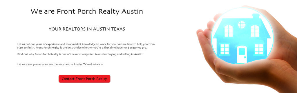 front porch realty Austin Homes for Sale realtors in austin texas
