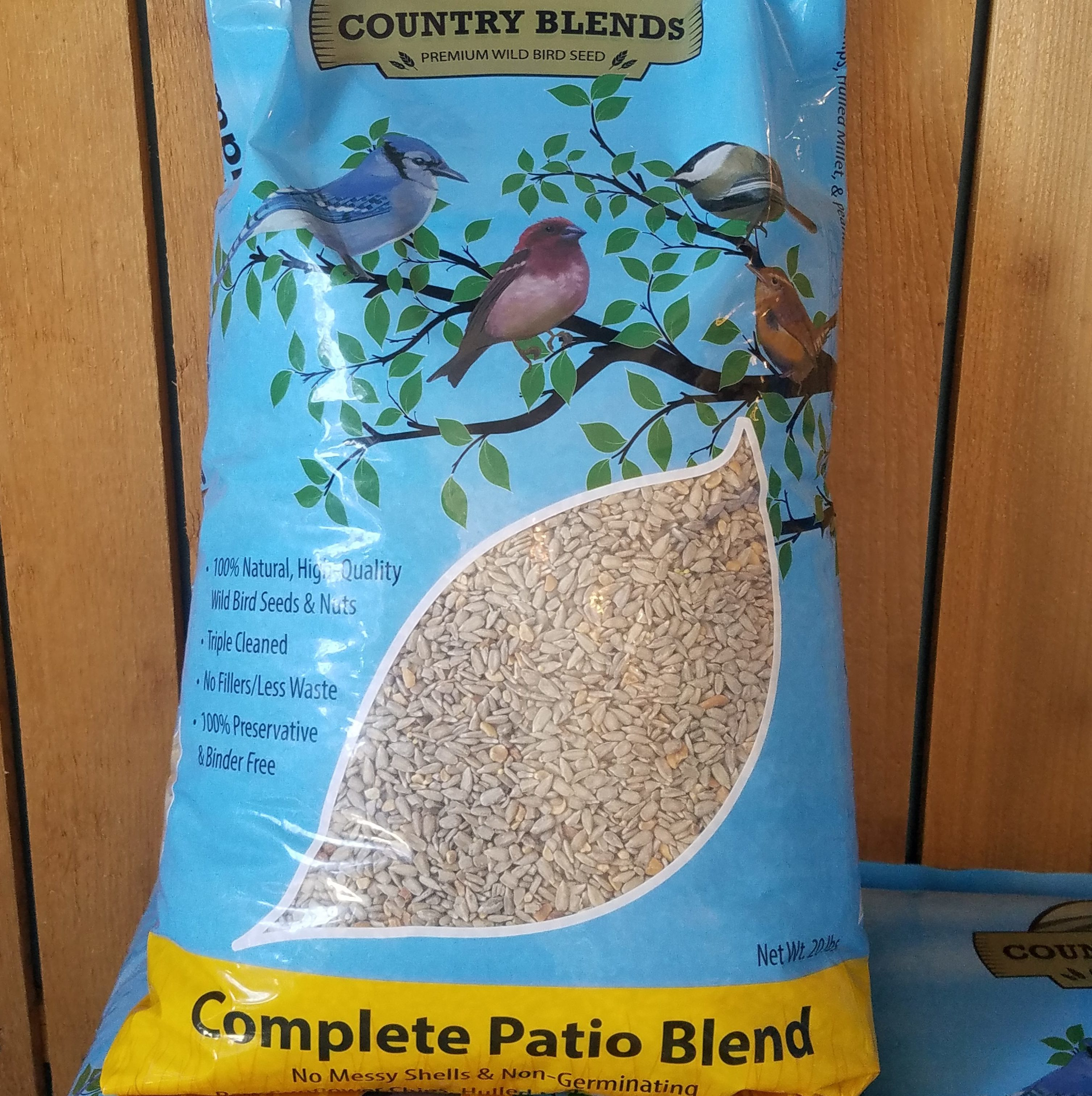 complete patio blend