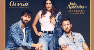 "Lady Antebellum Brings ""Ocean"" Tour to Charlotte and Raleigh North Carolina"