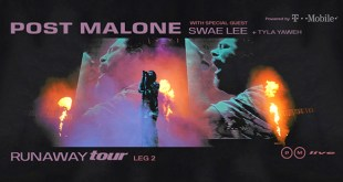 Post Malone's Runaway Tour Comes to Greensboor March 1