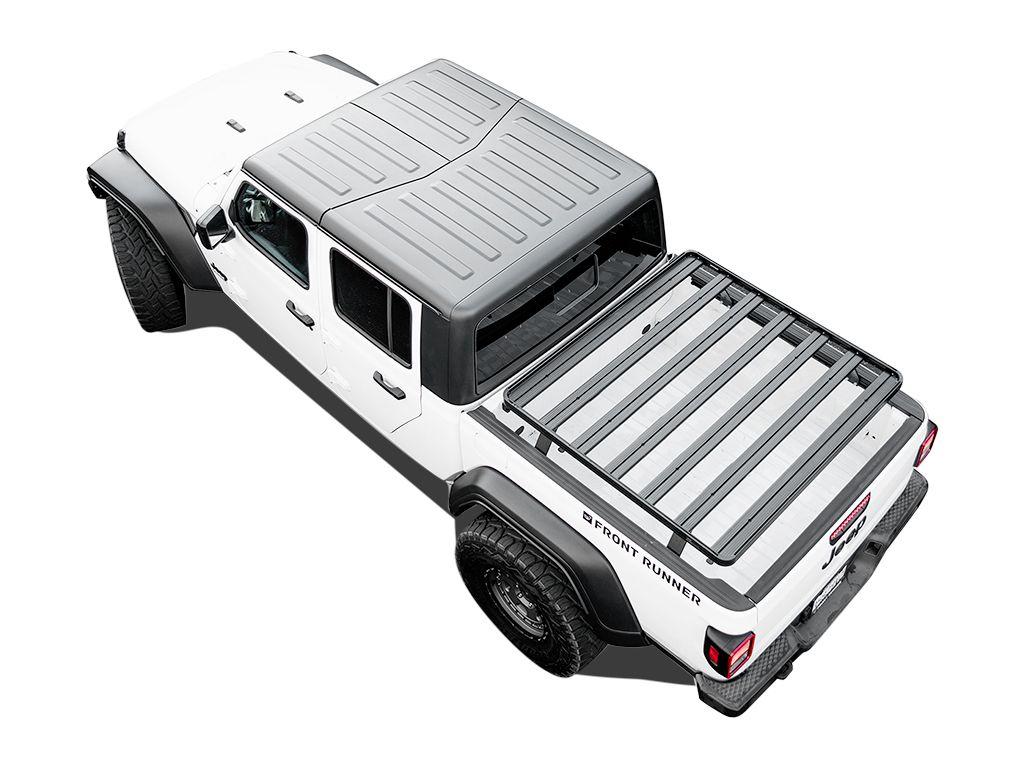 jeep gladiator jt 2019 current slimline ii load bed rack kit by front runner