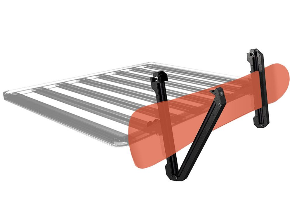 pro ski snowboard fishing rod carrier by front runner