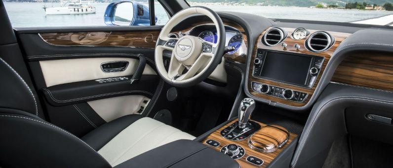 Bentley Bentayga Diesel 2017 Interior