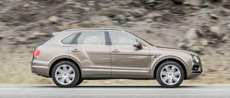 Bentley Bentayga Diesel 2017 Profile