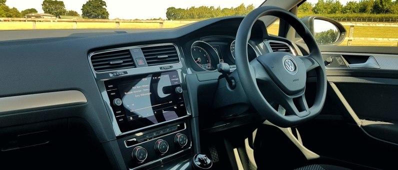 Volkswagen Golf 2018 Interior - Europcar