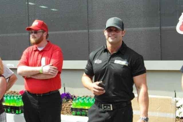Matt Hagan before the 2014 NHRA 4-Wide Nationals at ZMax Dragway