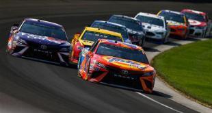2017 Indianapolis Motor Speedway MENCS Matt Kenseth photo credit NASCAR via Getty Images