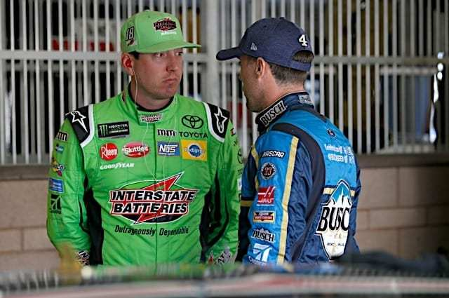 Kevin Harvick Puts $50K Bounty on Kyle Busch in Truck Series
