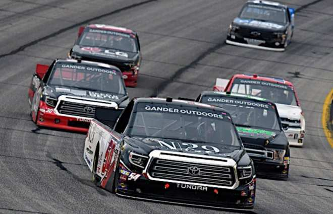Christian Eckes Starting First in Atlanta Truck Race