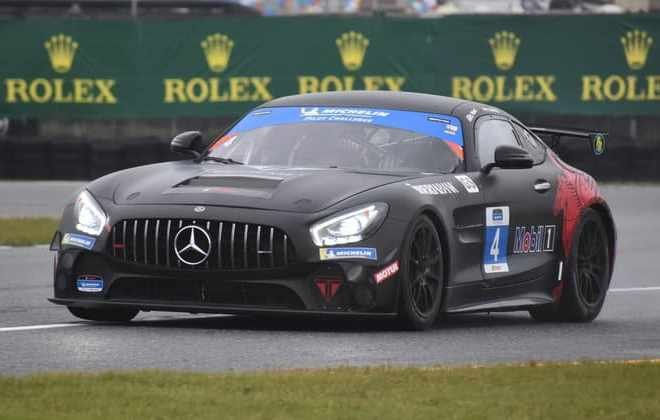 Indy Dontje Fastest in Moist Pilot Challenge Practice No. 2