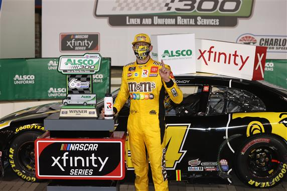 Kyle Busch Claims Win No. 97 at Charlotte Motor Speedway