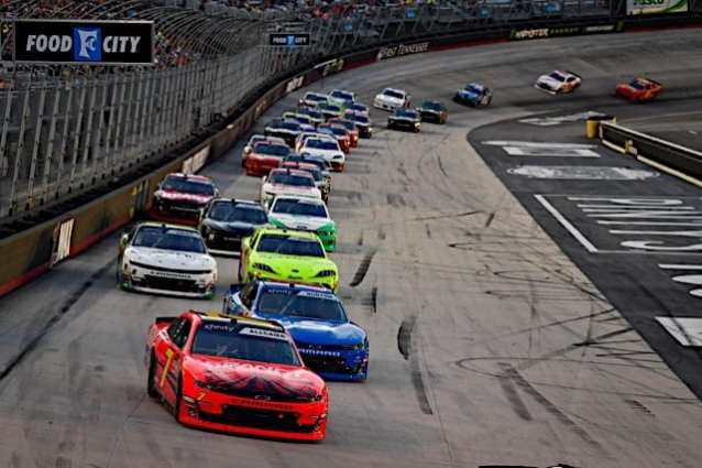 Xfinity Saluting Employee Heroes at Bristol