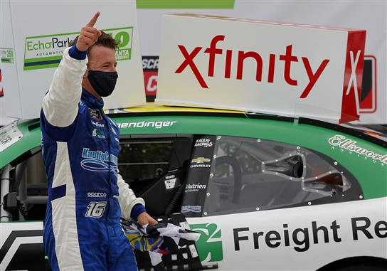 AJ Allmendinger Rings in a Humdinger Xfinity Win at Atlanta