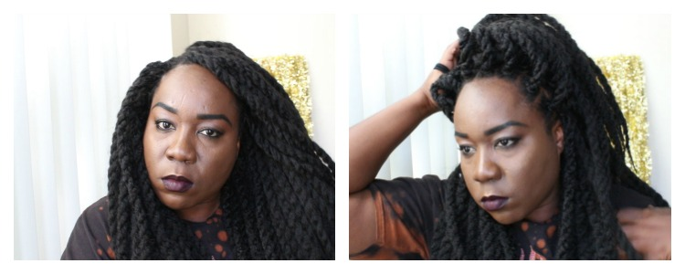 Crochet Twists Styles Sensationnel Samba Twist