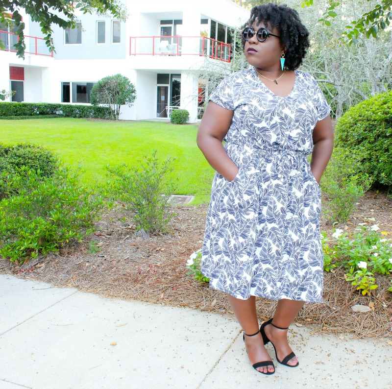 Yours Clothing Business Casual Dress