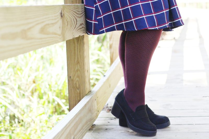 Plus Size Tights for Fall