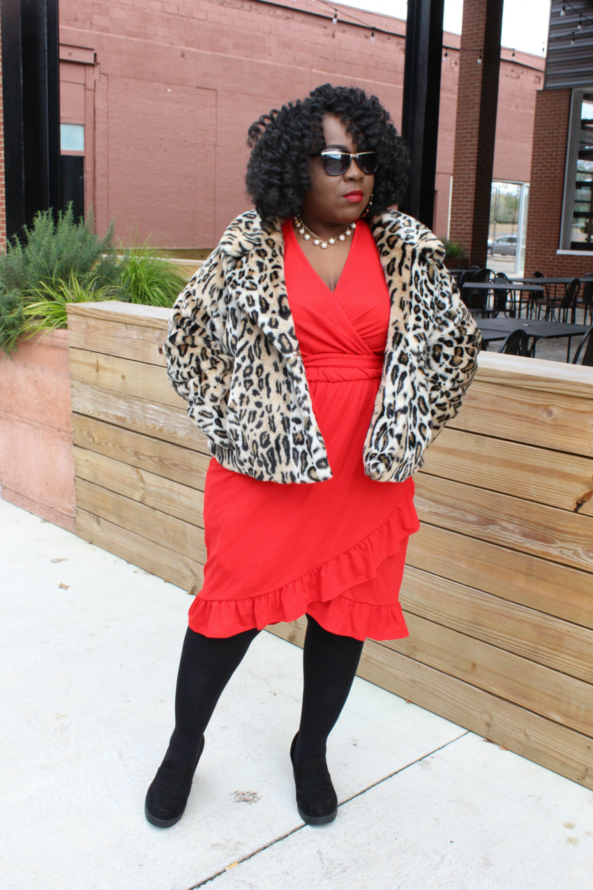4562e328df3 3 Different Ways to Style a Leopard Coat | FRO PLUS FASHION