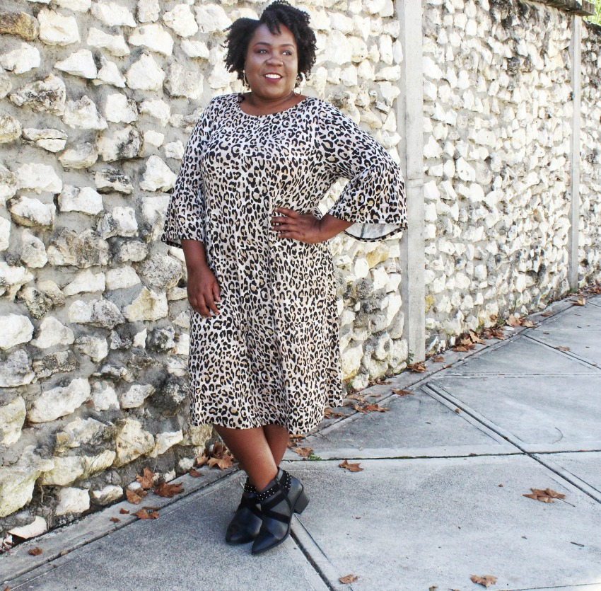 3 Ways To Style Leather And Leopard Together Fro Plus Fashion