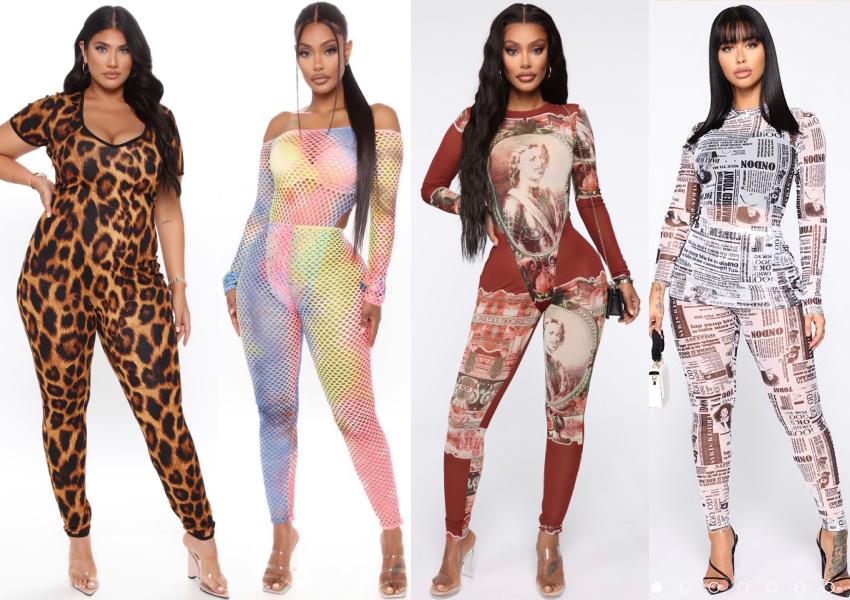 Plus Size Full Bodysuits Beyonce Black Is King