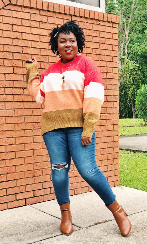 Ways to Style Plus Size Fall Sweater