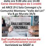 Arce: Corso deontologico da 5 crediti per i giornalisti, sabato 17 ottobre ore 9,00.