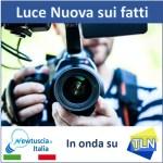 – Puntata inaugurale della trasmissione Luce Nuova sui fatti su Tele Lazio Nord.