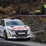 Lucchesi Jr. e HP Sport RRT sul podio del Rally Il Ciocco con la 208 Rally4