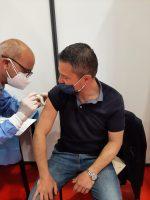 ANAGNI: Inaugurato l'hub vaccinale del Palazzetto dello sport. Le parole del Sindaco Daniele Natalia.