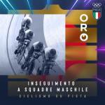 Tokyo 2020, oro Italia con record mondiale nell'inseguimento a squadre maschile di ciclismo.
