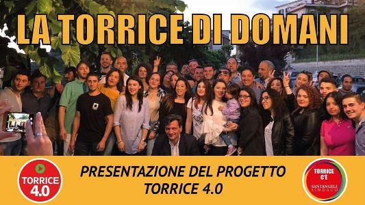 I giovani di Torrice 4.0 illustrano il loro progetto di riqualificazione.