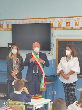 Frosinone, Ottaviani inaugura l'anno scolastico.