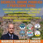 Alatri, sicurezza come priorità del candidato sindaco Cianfrocca.
