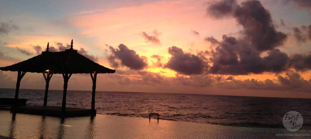 Sri Lanka is one of my top 12 places to visit in 2016. Maybe it is the gorgeous sunset over the Indian Ocean, as seen in this photo. Photo by Meg Frost. All rights reserved.