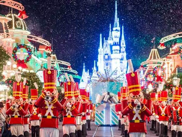 Marching Toy Soldiers at Disney World