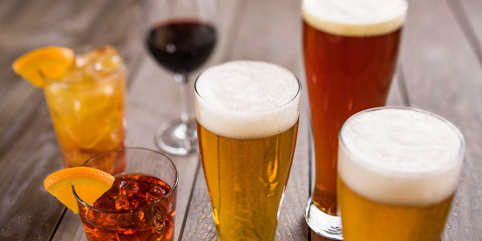 Sample beer, wine or cocktails from around the world at Disney World.