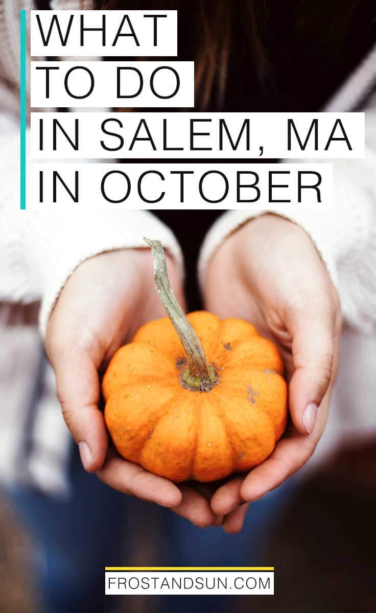 Celebrate the Autumn season with a weekend trip to the New England coastal town of Salem, MA. Here are my suggestions on how to spend an October weekend in Salem, MA.