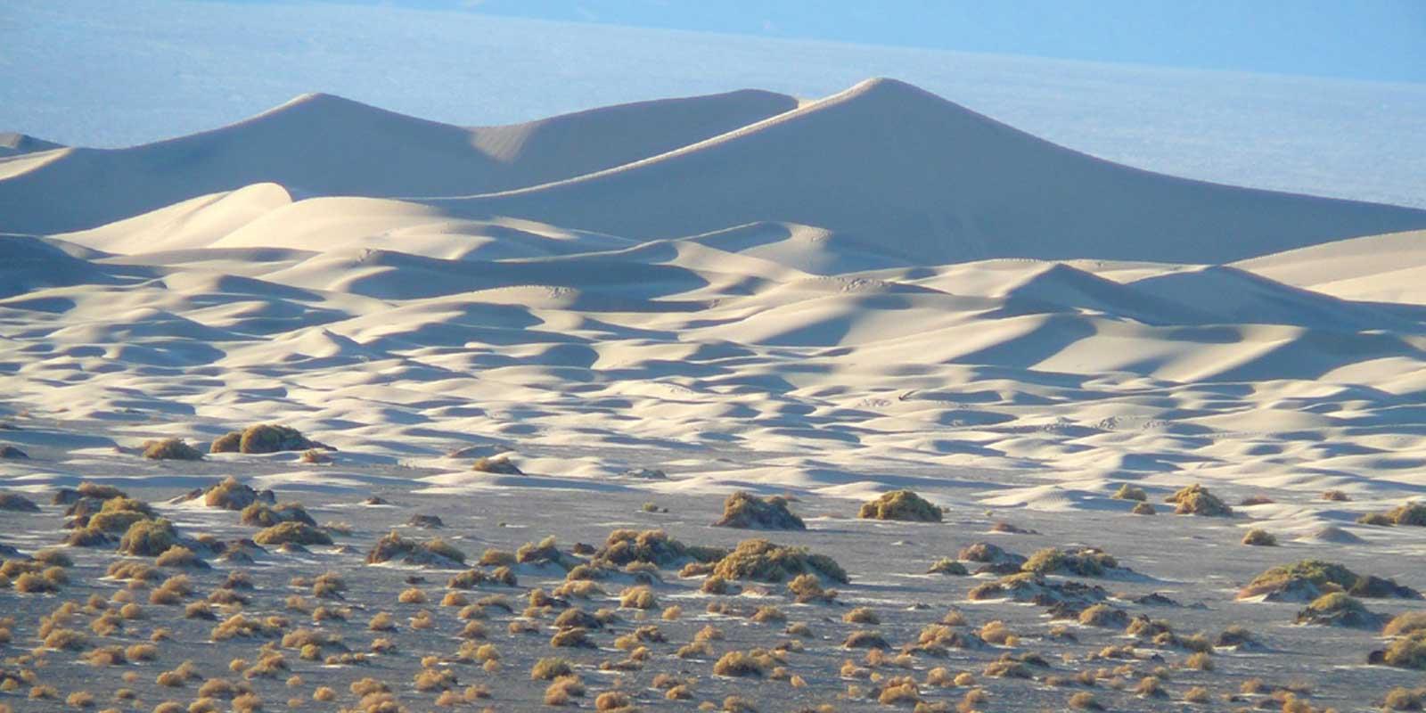 Landscape photo of sand dunes at Death Valley National Park