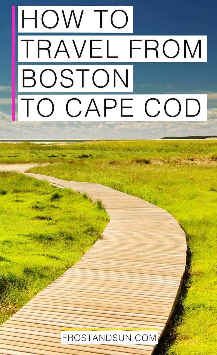 Avoid the traffic from Boston to Cape Cod with these tips from a local. #capecod #marthasvineyard #nantucket #traveltips