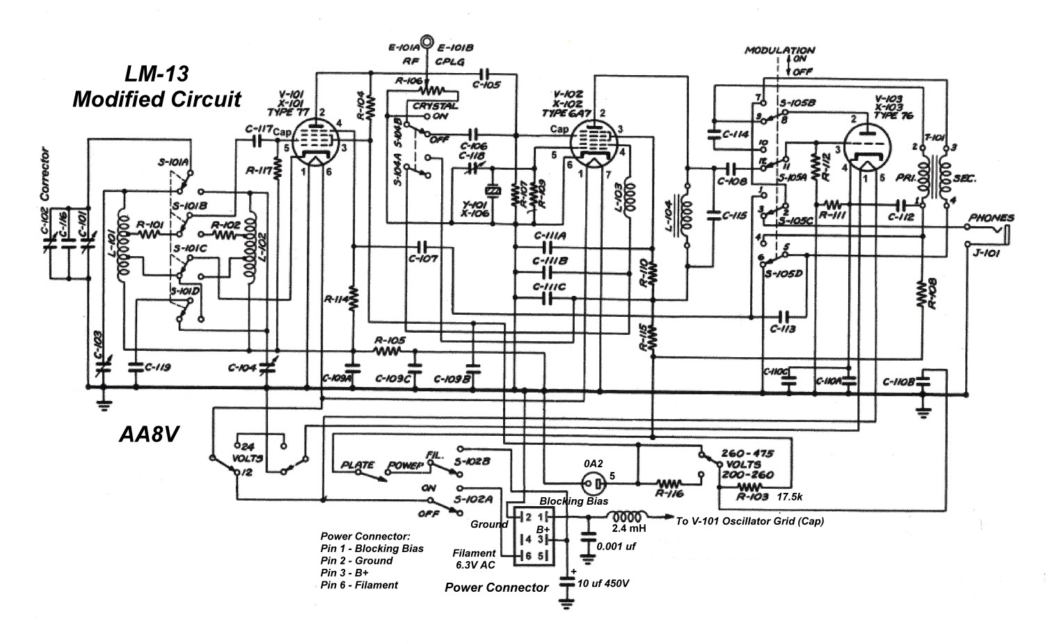 Using The Lm 13 Frequency Meter As A Vfo