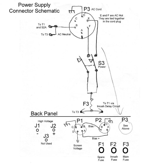 small resolution of click here for a higher resolution schematic circuit design considerations the power connectors connect the power supply