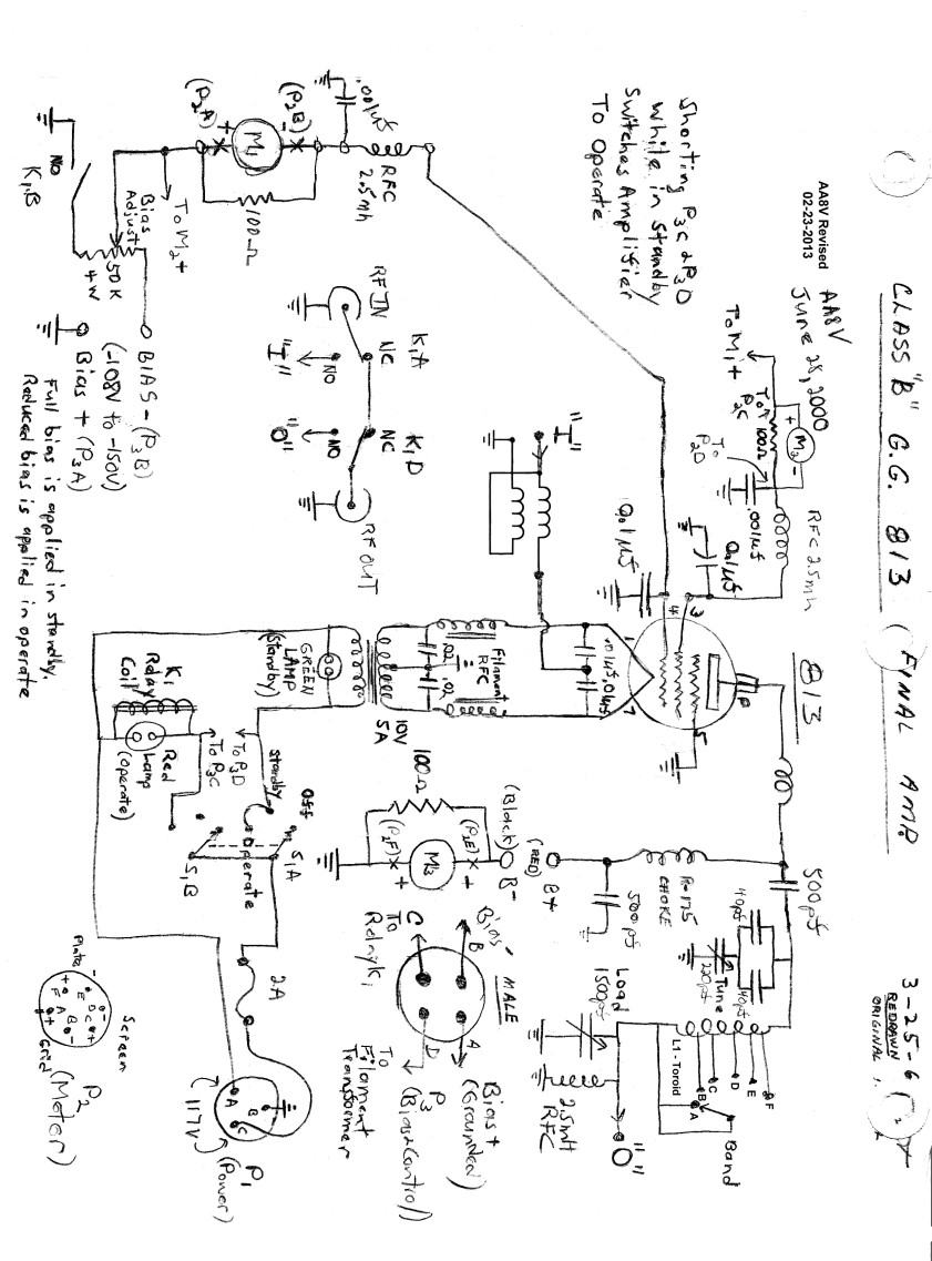 Wingfoot 813 Circuit Description and Schematic Diagram