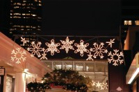 Large Lighted Outdoor Snowflake Decorations - Outdoor ...