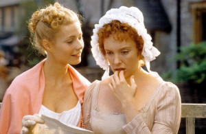 Gwyneth Paltrow as Emma with Toni Collette as Harriet Smith in a 1996 movie adaptation.