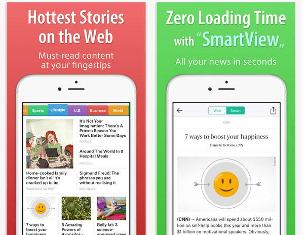 smart news screenshot