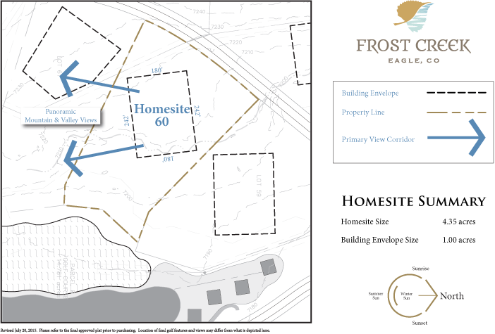 Homesite 60 diagram