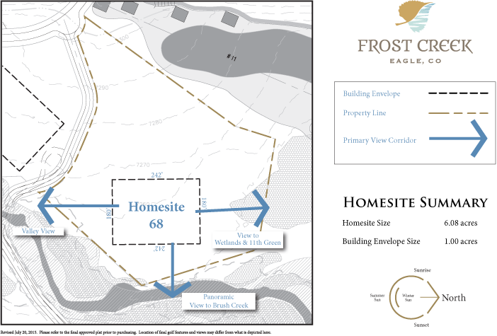 Homesite 68 diagram