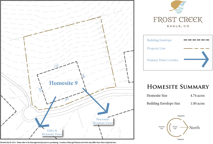 Homesite 9 diagram