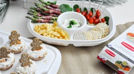 Party Food Ideas and Packing Platters with Rubbermaid Serving Containers