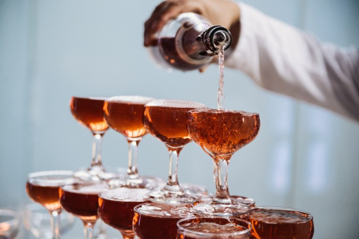 Maple Bourbon Champagne Cocktail-12161